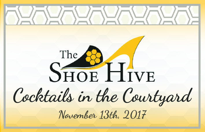 Shoe Hive Cocktails in the Courtyard