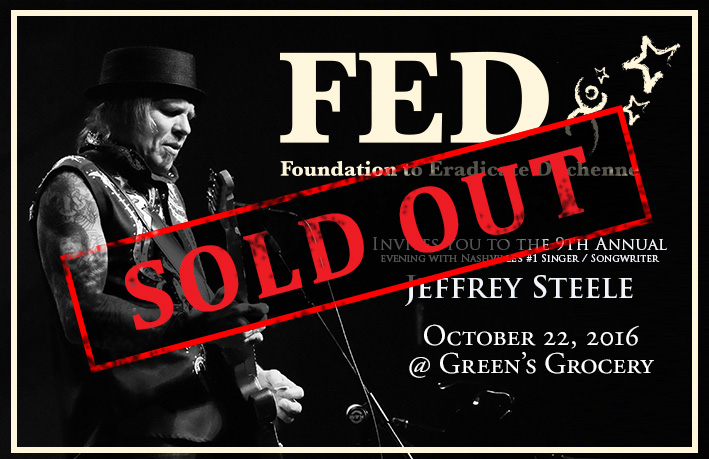 9th Annual Jeffrey Steele Concert – SOLD OUT