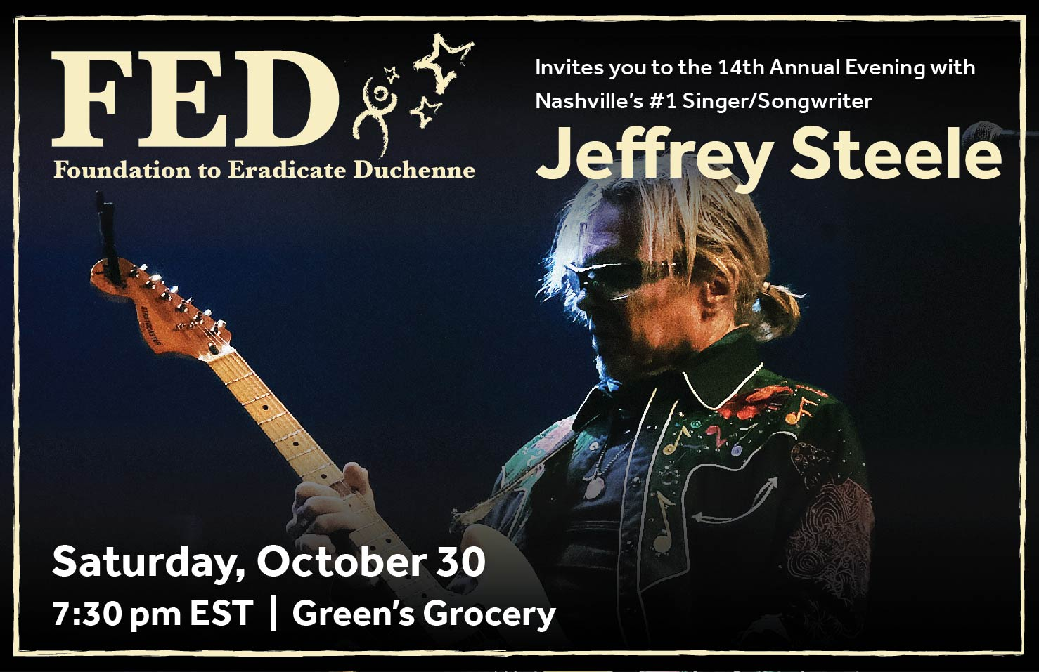 14th Annual Jeffrey Steele Concert